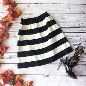 Downeast striped skirt
